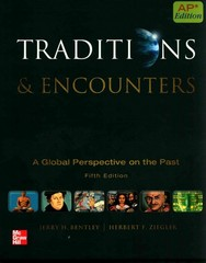 Traditions & Encounters 5th Edition 9780076594382 0076594386