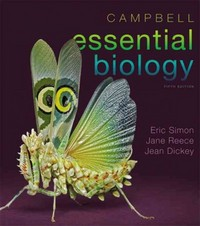 Campbell Essential Biology 5th Edition 9780321772596 0321772598