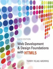 Web Development and Design Foundations with HTML5 6th edition 9780132783392 0132783398
