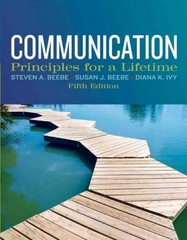 Communication 5th Edition 9780205029433 0205029434