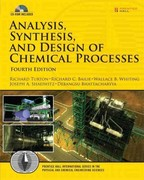 Analysis, Synthesis and Design of Chemical Processes 4th Edition 9780132618120 0132618125