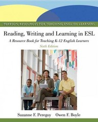 Reading, Writing, and Learning in ESL 6th Edition 9780132685153 0132685159