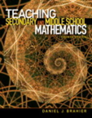 Teaching Secondary and Middle School Mathematics 4th Edition 9780132698115 0132698110