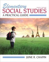 Elementary Social Studies 8th edition 9780132697156 0132697157