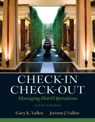 Check-in Check-Out 9th Edition 9780132706711 0132706717