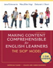 Making Content Comprehensible for English Learners 4th Edition 9780133120394 0133120392