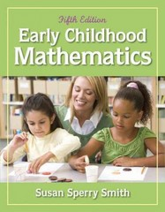Early Childhood Mathematics 5th Edition 9780132613682 0132613689