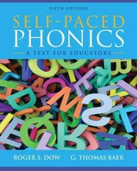 Self-Paced Phonics 5th Edition 9780132883672 0132883678