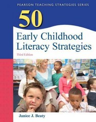 50 Early Childhood Literacy Strategies 3rd Edition 9780133090253 0133090256