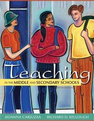 Teaching in the Middle and Secondary Schools 10th edition 9780132696203 0132696207