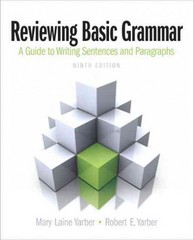 Reviewing Basic Grammar 9th Edition 9780205247301 020524730X