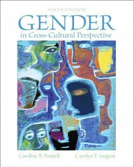 Gender in Cross-Cultural Perspective 6th edition 9780205247288 0205247288