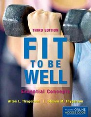 Fit To Be Well 3rd Edition 9781449661403 1449661408