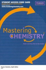 MasteringChemistry -- Standalone Access Card -- for Organic Chemistry 8th edition 9780321773821 0321773829