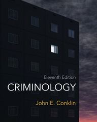 Criminology 11th Edition 9780132764445 013276444X