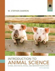 Introduction to Animal Science 5th Edition 9780132623896 0132623897