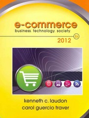 E-Commerce 2012 8th Edition 9780138018818 0138018812