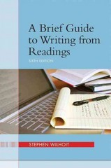A Brief Guide to Writing from Readings 6th Edition 9780205245741 0205245749