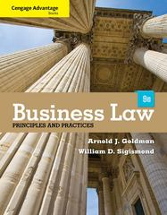 Cengage Advantage Books: Business Law 9th Edition 9781133586562 1133586562