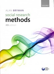 Social Research Methods 4th Edition 9780199588053 0199588058