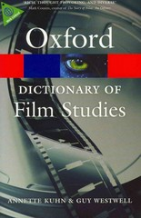 A Dictionary of Film Studies 1st Edition 9780199587261 0199587264