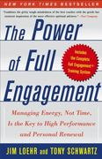 The Power of Full Engagement 0 9780743226752 0743226755