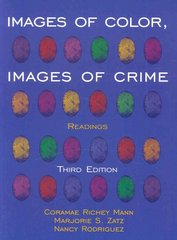 Images of Color, Images of Crime 3rd Edition 9780195330632 0195330633