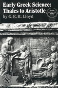 Early Greek Science 0 9780393005837 0393005836