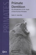 Primate Dentition 1st edition 9780521652896 0521652898