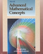 Advanced Mathematical Concepts 0 9780028242866 0028242866