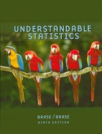 Understandable Statistics 9th edition 9780618949922 0618949925