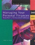 Managing Your Personal Finances 3rd edition 9780538628969 0538628960