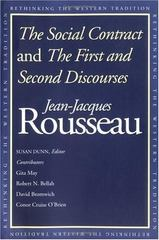 The Social Contract and The First and Second Discourses 1st Edition 9780300129434 0300129432