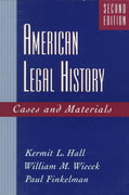 American Legal History 2nd edition 9780195097641 0195097645