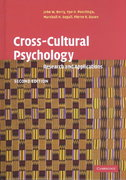 Cross-Cultural Psychology 2nd edition 9780521641524 0521641527