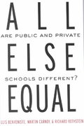 All Else Equal 1st edition 9780415931977 0415931975