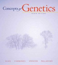 Concepts of Genetics 9th Edition 9780321524041 0321524047