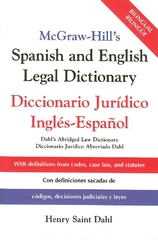 McGraw-Hill's Spanish and English Legal Dictionary 1st edition 9780071415293 0071415297