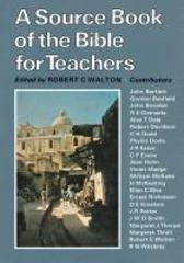 A Sourcebook of the Bible for Teachers 0 9780334014911 0334014913