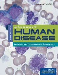 An Introduction to Human Disease 9th Edition 9781449665593 1449665594