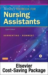 Mosby's Textbook for Nursing Assistants (Soft Cover Version) - Text, Workbook, and Mosby's Nursing Assistant Video Skills - Student Version DVD 3.0 Package 8th edition 9780323090315 0323090311