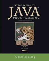 Introduction to Java Programming, Comprehensive Version 9th edition 9780132936521 0132936526