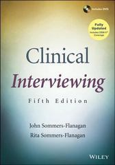 Clinical Interviewing 5th Edition 9781118419564 1118419561