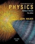 Fundamentals of Physics Tenth Edition Volume 1 (Chapter 1-20)