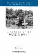 A Companion to World War I 1st edition 9781119968702 1119968704