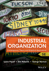 Industrial Organization 5th Edition 9781118250303 1118250303