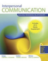 Interpersonal Communication 1st Edition 9780757596940 0757596940