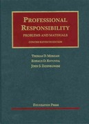 Professional Responsibility, Problems and Materials, Concise 11th edition 9781609300852 1609300858