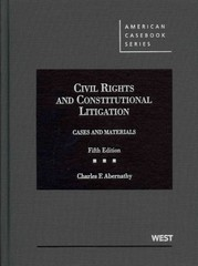 Civil Rights and Constitutional Litigation 5th edition 9780314267870 0314267875