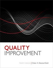 Quality Improvement 9th Edition 9780132624411 0132624419